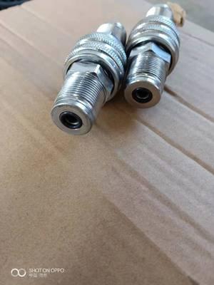 特价 快速接头 自密封 超高压 快捷 方便的插头 22螺纹 油泵