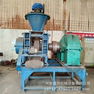 高压对辊干粉压球机 强力矿粉煤粉压球机 全自动矿粉压球机