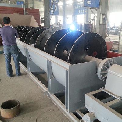 厂家直供螺旋式洗石机薯塔式节能砂石清洗机槽式泥石清洗生产线