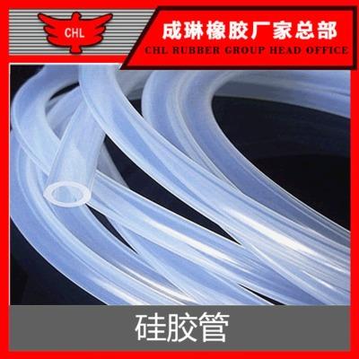 货期快 耐高温透明硅胶管条 6mm耐高温食品级管条透明硅胶软管