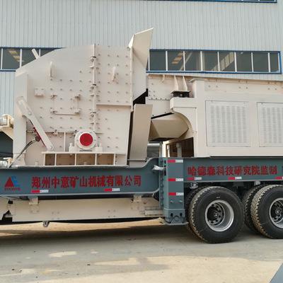 陕西榆林建筑垃圾处理设备多少钱  新型移动破碎站日产多少吨