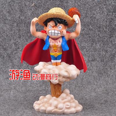 海贼/航海王 GK 超人路飞 草帽路飞 盒装手办模型摆件娃娃机公仔