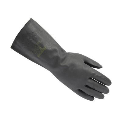霍尼韦尔Honeywell2095020氯丁橡胶棉质衬里直筒非一次性防化手套