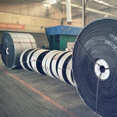 厂家批发环形挡边耐高温输送带 防滑花纹运输带尼龙橡胶输送带