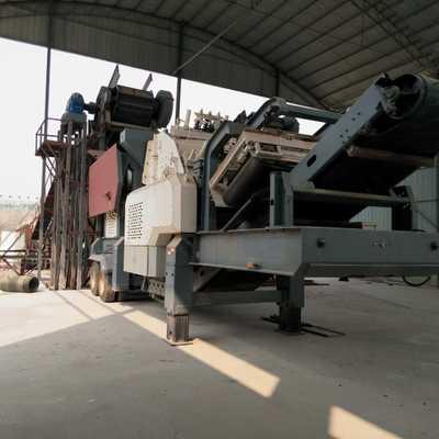 直销移动式建筑垃圾破碎站 箱式移动破碎站 反击式移动破碎机设备