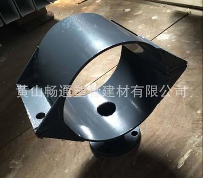 鞍形增接口鞍座分口器口径DE63-800mmPVC厂家定制钢塑管件增接口