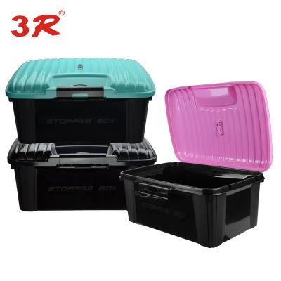 3R车载汽车后备箱整理收纳储物箱安全环保无味家用工具箱车用水桶