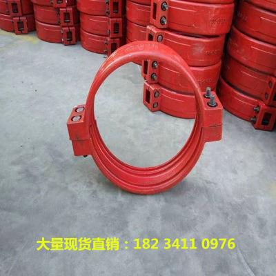 江苏镇江矿山dn80焊接式卡箍管道柔性接头密封圈