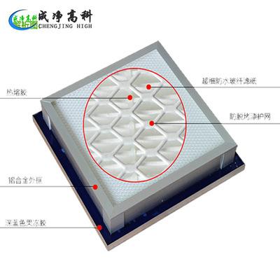 液槽高效过滤器 资阳市制药厂高效空气过滤器 百级高效空气过滤器
