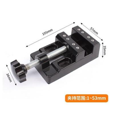 精密平口钳2寸-6寸机用手动直角虎钳批士夹具塑料磨床台钳包邮