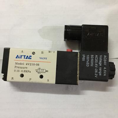 特价 亚德客电磁阀4V210-08 4V310-10 二位五通先导性电磁阀
