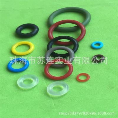 现货供应绿色氟胶O型圈 耐超声波氟胶密封圈 耐老化耐高温氟胶圈