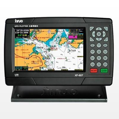 特价 厦门新诺科技 正品 7英寸船用卫星GPS导航仪 接收机 XF-607