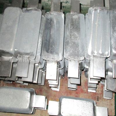 厂家直销订做船用防腐锌块 CCS认证 锌合金阳极锌铝镉合金牺牲阳