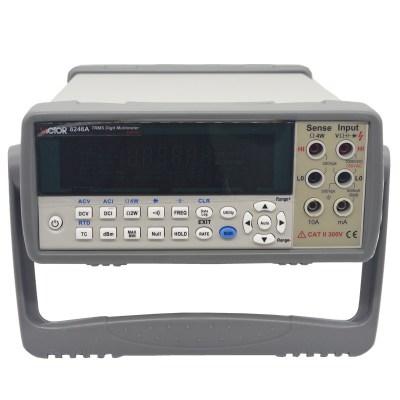 胜利VC8246A 数字万用表 数显高精度万能表多用表 台式自动量程