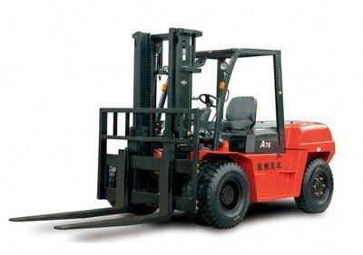杭州叉车3吨|杭州R系5吨6吨8吨柴油2手叉车供应