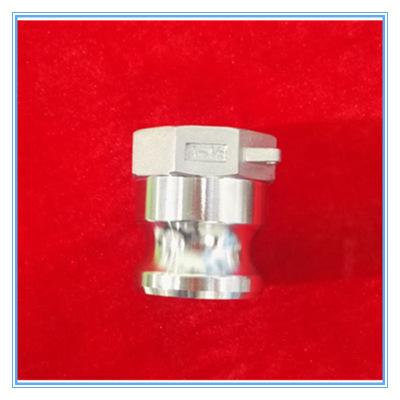 精密铸造不锈钢304材质快速接头 螺纹连接内螺纹阳端波纹管快接