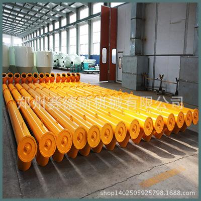水泥粮食混凝土碳素无轴管式螺旋输送机移动式输送机加厚材质