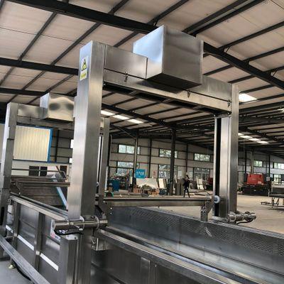 大型冻肉解冻机 自动提升解冻生产线 牛肉羊肉连续式连续式解冻机