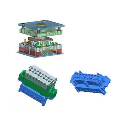 模具制造-尼龙夹具管接头注塑模具产品加工领航精密模具欢迎您