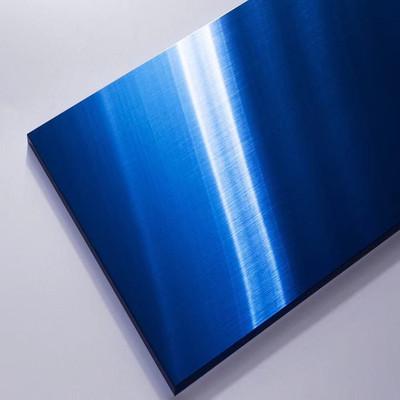 宝石蓝不锈钢拉丝板 KTV装饰板 广州供应不锈钢宝石蓝