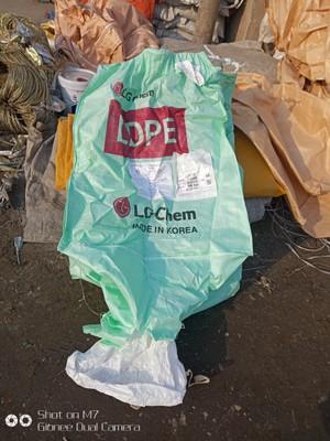 二手吨袋95-95-140上下小口底绳已穿好吊绳韩国集装袋低价