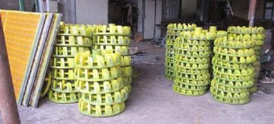 定做各种规格浮选机橡胶聚氨酯尼龙叶轮盖板 定子转子