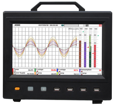 现货供应JINKO金科JK9000多路数据记录仪8/16/24/32/40路测试仪