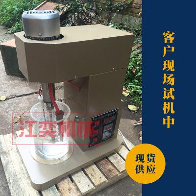 XJT实验浸出设备 定制实验室小型变频调速充气式多功能浸出搅拌机