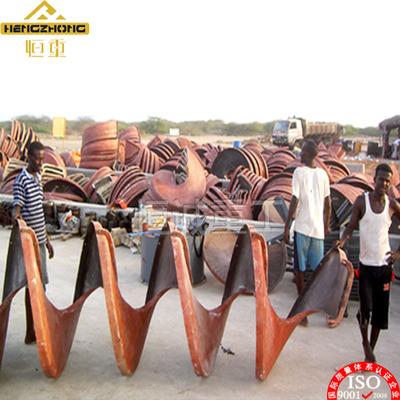 螺旋溜槽回收金尾矿 玻璃钢螺旋溜槽环保无噪音