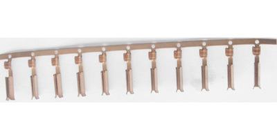 厂家低价供应 品字尾U型管 品字尾铜管 印度插头内架