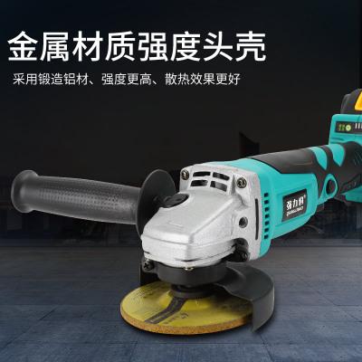 无刷锂电角磨机充电角向磨光机无线打磨机多功能抛光机电动角磨机