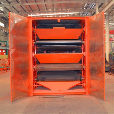 热风循环带式烘干设备 多层网带式烘干机 农产品稻谷干燥机