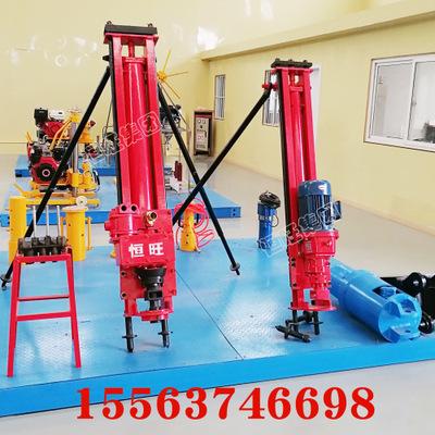 4KW潜孔钻机 便携式地表凿岩机 100型YQ凿岩潜孔钻机 钻机厂家