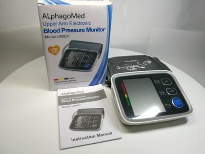 FDA/CEU80EH臂式电子血压计AlphagoMedCFDA血压测量仪器