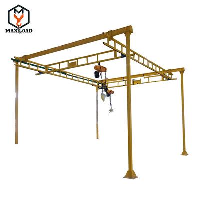 行车组合悬挂式组合单元柔性起重机 车间厂房轨道吊装航车行车