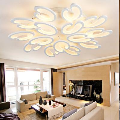 客厅灯吸顶灯创意酷毙灯饰餐厅灯智能遥控室内灯具艺术装饰卧室灯