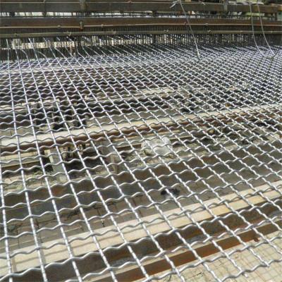 钢丝筛网  矿筛过滤网 钢丝围栏网  黑钢轧花网
