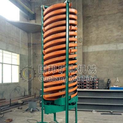 现货直供选煤溜槽 BLL1500玻璃钢螺旋溜槽 河砂沙金选矿溜槽设备
