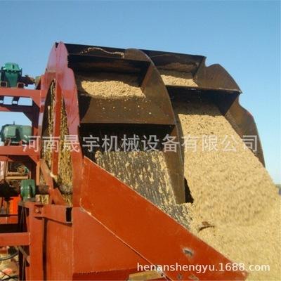 晟宇机制砂洗选生产线 移动轮斗式洗砂机 双螺旋洗砂脱泥机厂家