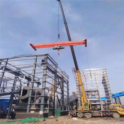 厂家供应单梁起重机 5吨单梁桥式起重机 定制10吨电动单梁起重机