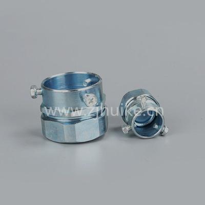 电气设备Φ64-70mm卡套式金属接头 金属软管接头 DKJ三柱式
