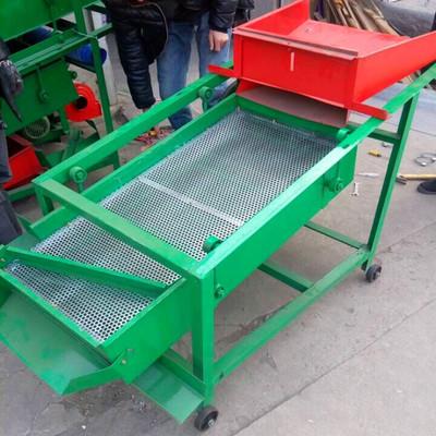 冲孔板定制筛网粮食过滤清选机 家用电动粮食过滤分离筛子