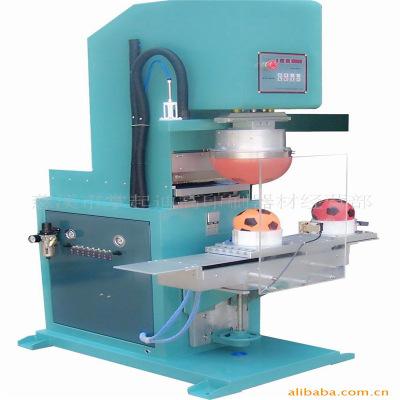 供应单色印球机 四色圆盘球体移印机、八色圣诞球印刷机