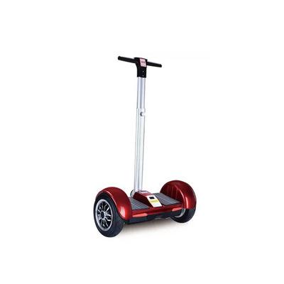 A8手扶带手柄自平衡车儿童两轮电动车  10寸智能成人代步车体感车