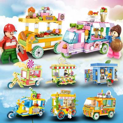 适用于森宝积木售卖车拼装街景雪糕模型积木玩具男孩女孩礼物手伴