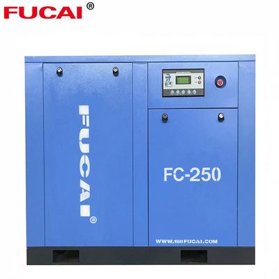 螺杆式空压机185KW 永磁变频超一体式螺杆机工业级静音压缩机气泵