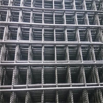 8毫米带筋钢筋网片Q195 Q235材质焊接网片 矿筛网片 杭州厂家供应