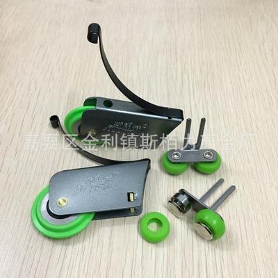 广东柏力 厂家直销精品移门滑轮 衣柜门中空推拉门顺音静滑轮配件