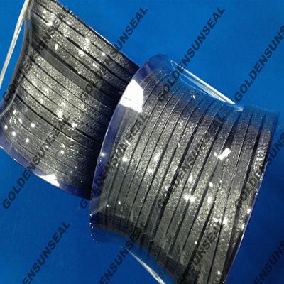 生产优质特纯金属石墨导热导电优质金属增强石墨密封盘根紧固盘根
